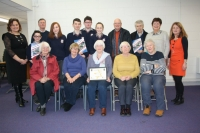 Community School students link up with Ardee Active Retirement Group